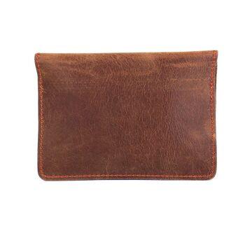 Обложка для паспорта, коричневая П4085