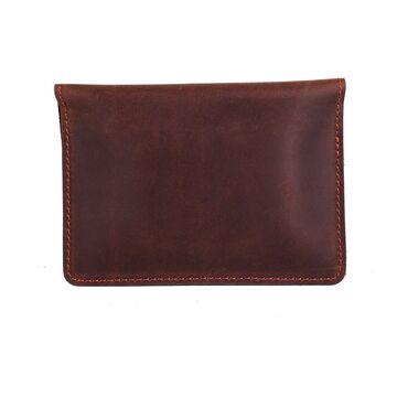 Обложка для паспорта, коричневая П4087
