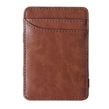 Зажим, кошелек коричневый П4099