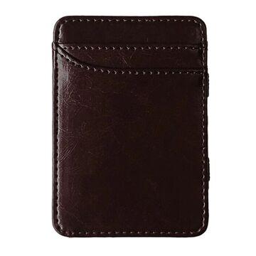 Зажим, кошелек коричневый П4100