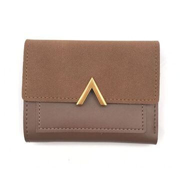 Женский кошелек, коричневый П0285
