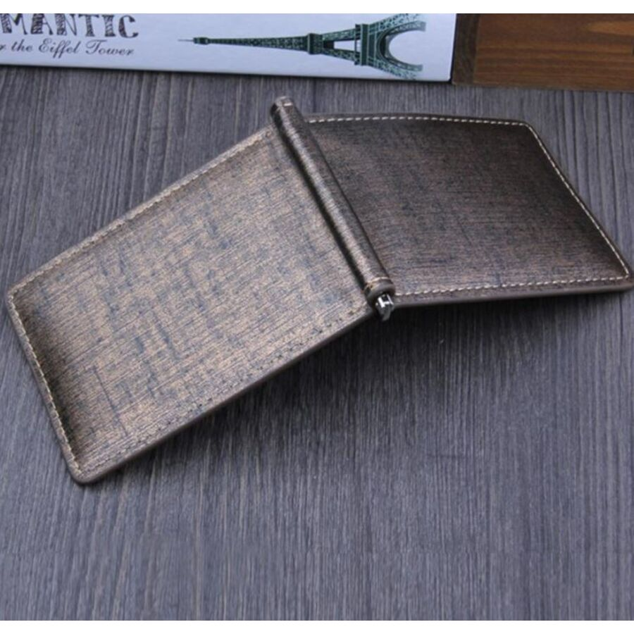 Мужские кошельки - Зажим, кошелек, коричневый 0289