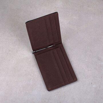 Зажим, кошелек, коричневый П0300