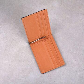 Зажим, кошелек, оранжевый П0301