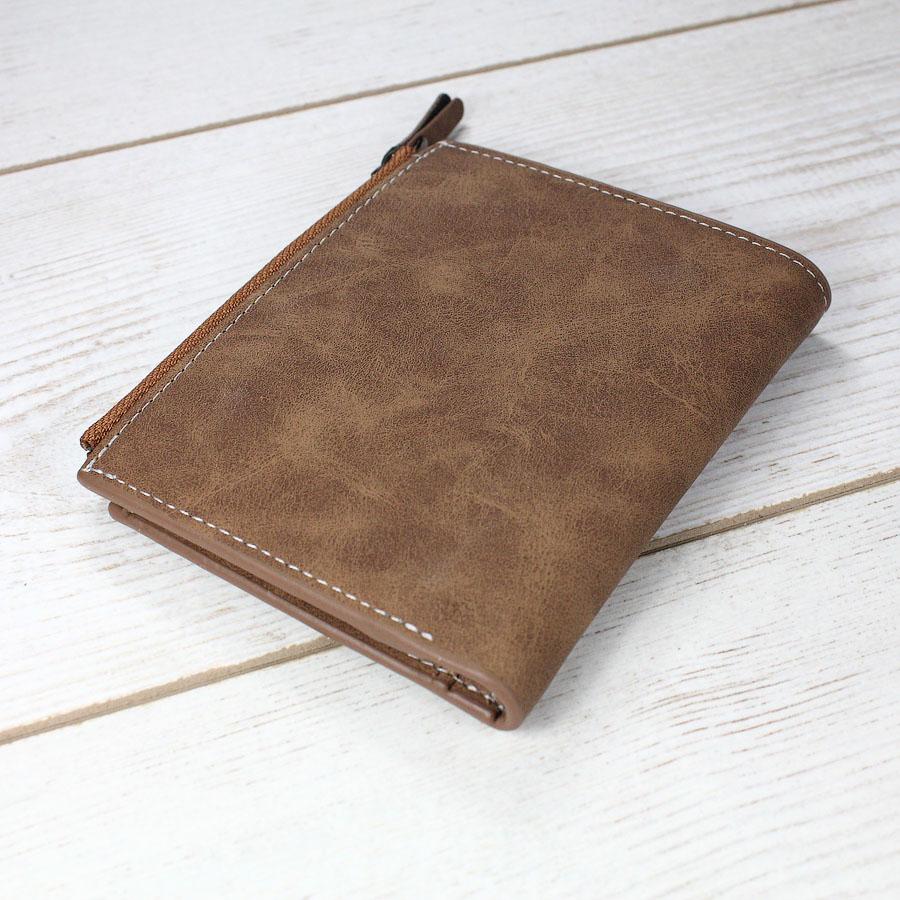 Мужские кошельки - Мужской кошелек, коричневый 0310