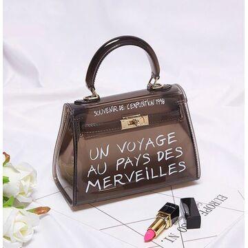 Женские сумки - Женская сумка прозрачная П0317