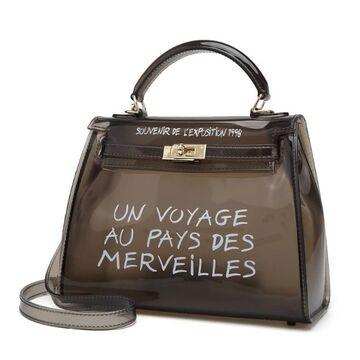 Женская сумка прозрачная П0318