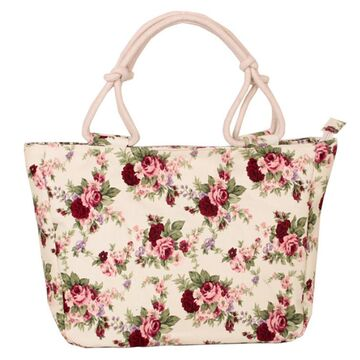 Женская сумка с цветами П0320
