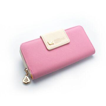 Женский кошелек, розовый П0324