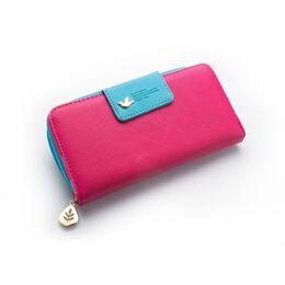 Женский кошелек, розовый 0325