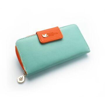 Женские кошельки - Женский кошелек, зеленый П0327