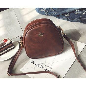 Женская сумка, коричневая 0328