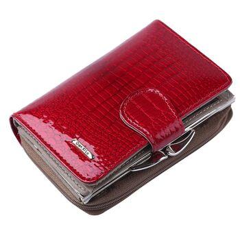 Женский кошелек, красный 0331