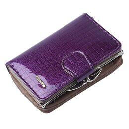 Женский кошелек, фиолетовый 0333