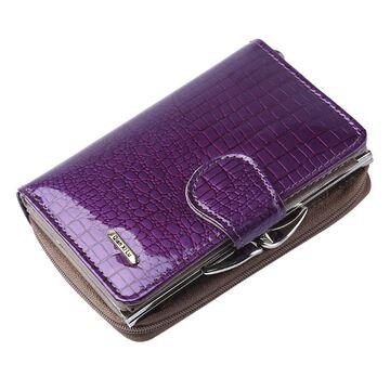 Женский кошелек, фиолетовый П0333