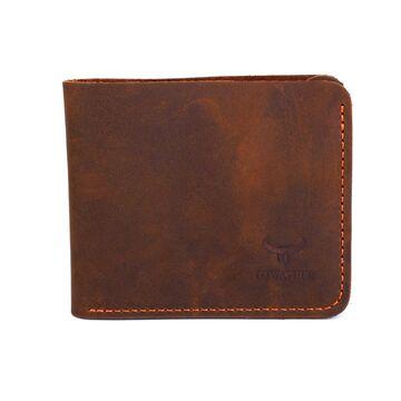 Мужской кошелек COWATHER, коричневый П0335