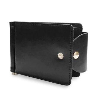 Зажим кошелек, черный П0336