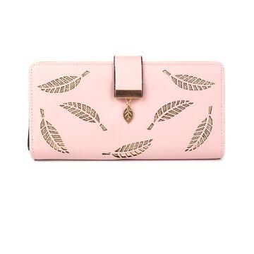 Женский кошелек, розовый П0340