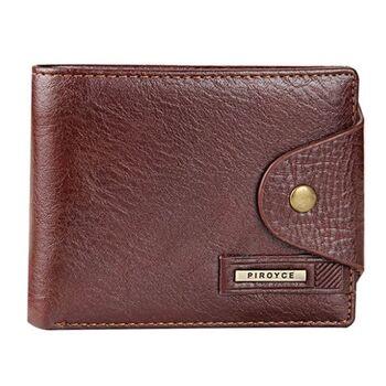 Мужской кошелек, коричневый 0344