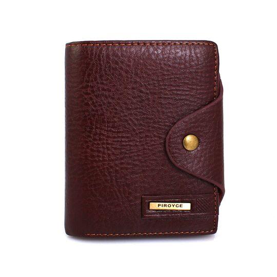 Мужские кошельки - Мужской кошелек, коричневый П0346