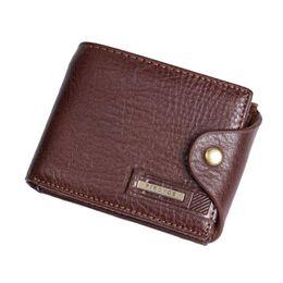 Мужской кошелек, коричневый 0351