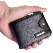 Мужские кошельки - Мужской кошелек, коричневый П0351