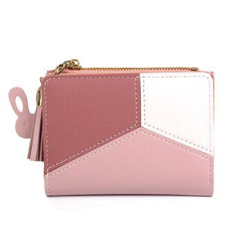 Женский кошелек, розовый П0355