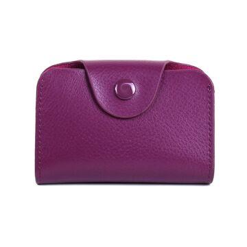 Визитница, фиолетовая П0364