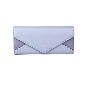 Женский кошелек, голубой П0368