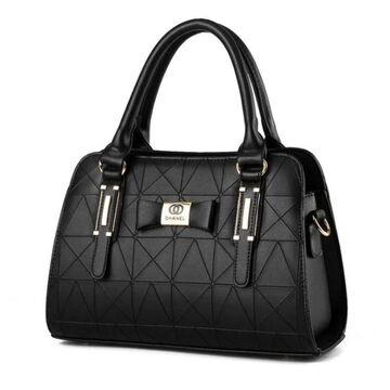 Женская сумка, черная П0370