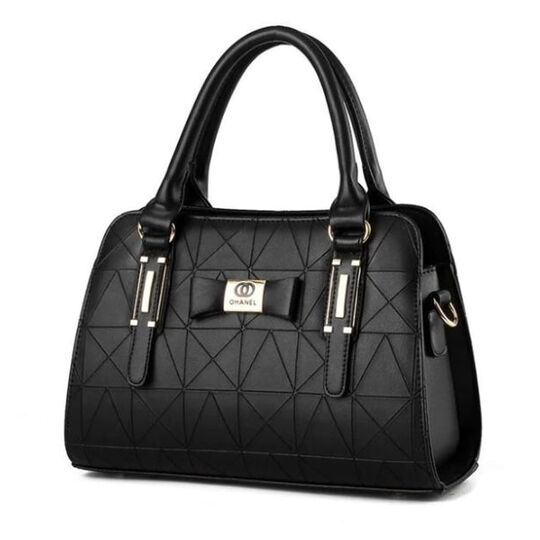 Женские сумки - Женская сумка, черная П0370
