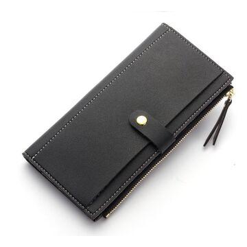 Женские кошельки - Женский кошелек, черный П0373