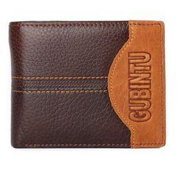 Мужской кошелек, коричневый 0376