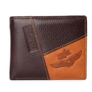 Мужской кошелек, коричневый П0377
