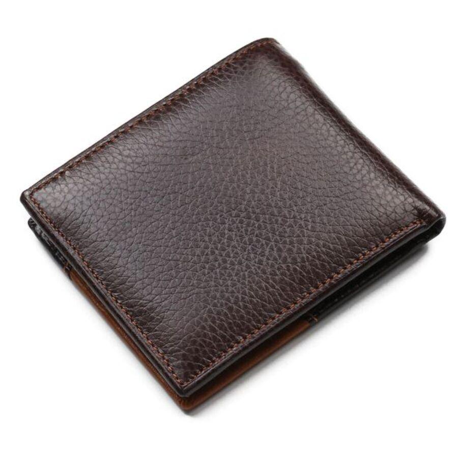 Мужские кошельки - Мужской кошелек, коричневый 0377
