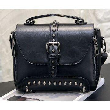 Женская сумка, черная П0379