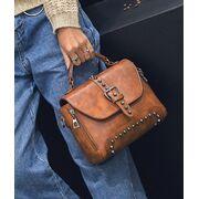Женские сумки - Женская сумка, красная П0381