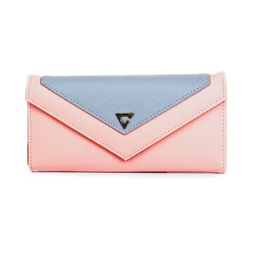 Женский кошелек WEICHEN, розовый П0383