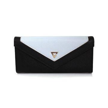 Женский кошелек, черный П0384