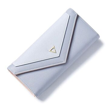 Женский кошелек, голубой 0385