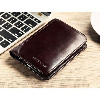 Мужской кошелек ManBang, коричневый П0386