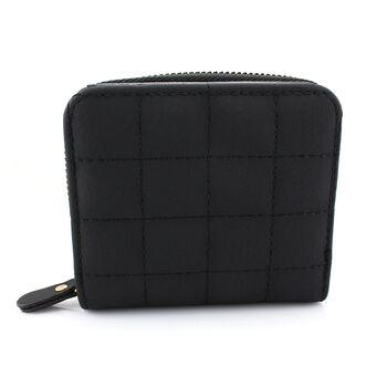 Женский кошелек, черный 0389
