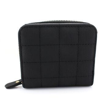 Женский кошелек, черный П0389