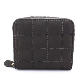Женский кошелек, серый 0391