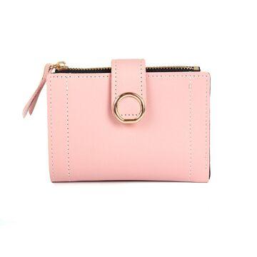 Женский кошелек, розовый П0392
