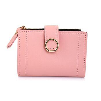 Женский кошелек, розовый П0393