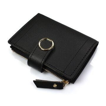 Женский кошелек, черный - П0394