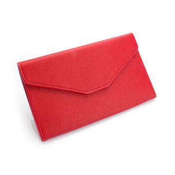 Женские кошельки - Женский кошелек, красный П0410