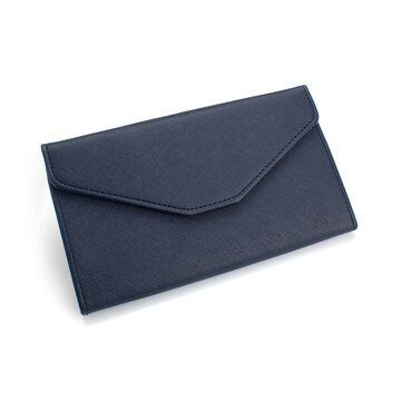 Женские кошельки - Женский кошелек, синий П0411