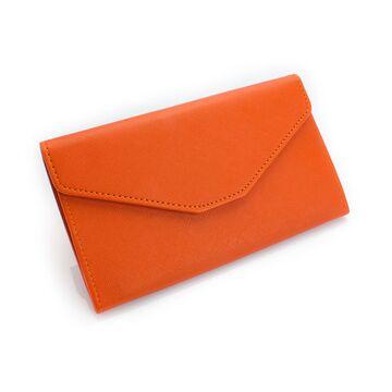 Женский кошелек, оранжевый П0413